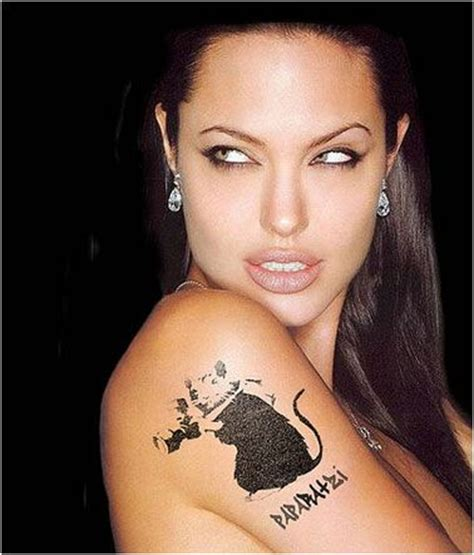 angelina jolie tattoo designs angelina jolie s paparazzi tattoo tats pinterest