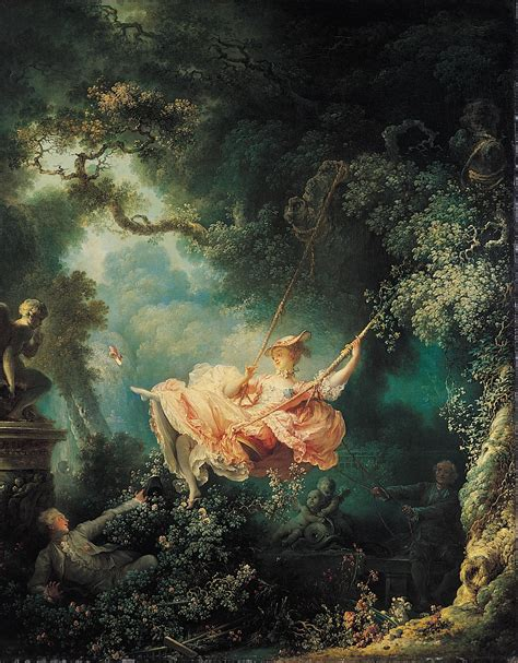 the swing 1767 jean honore fragonard wikiart org - Fragonard The Swing 1767