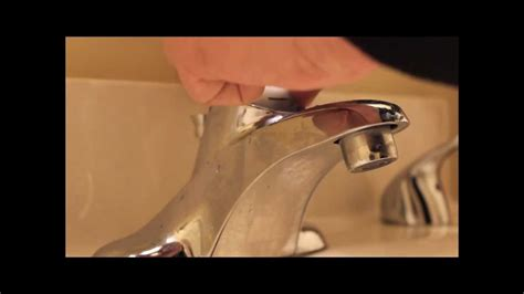 How To Remove A Single Handle Shower Faucet How To Repair Moen Bathroom Faucet Dripping Water
