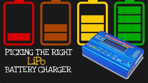 best lipo battery charger best lipo battery charger 2018 recommendations