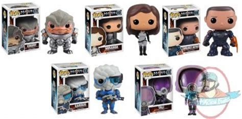 pop mass effect set of 5 vinyl figure by funko