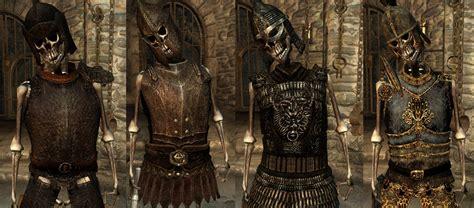 skyrim knight of skeleton armor mod armored skeletons at oblivion nexus mods and community