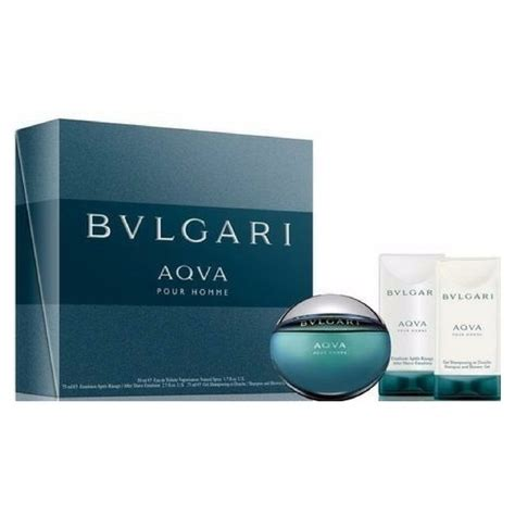 Bvlgari For Giftset 1 bvlari aqvga pour homme gift set limited edition
