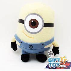 Loght Doll Minion plush dave talking minion with pop out by thinkway