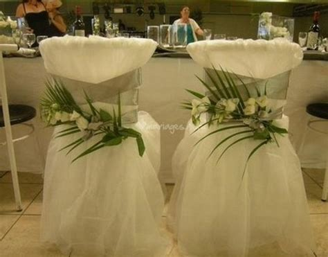 habillage chaise mariage housse chaise mariage le mariage