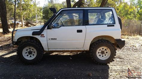 Suzuki Vitara Carburetor 1991 Suzuki Vitara Jx 4x4 Hardtop Manual 1 6l Carb In Vic