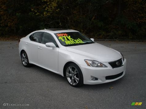 lexus white is250 2010 starfire white pearl lexus is 250 56481459