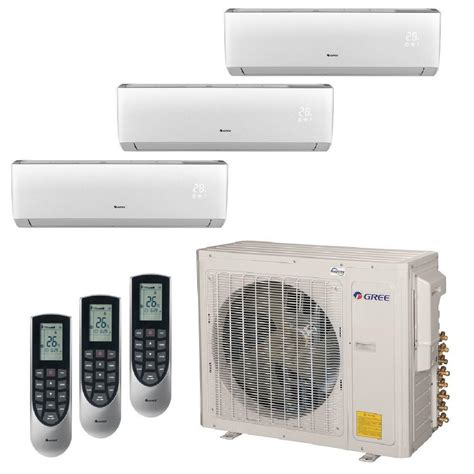 ductless mini split gree multi 21 zone 29000 btu ductless mini split air