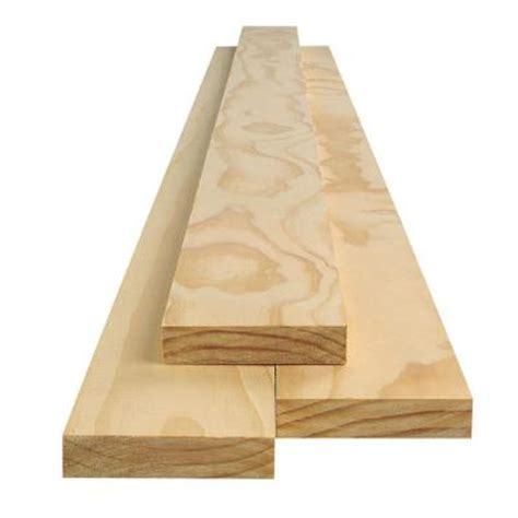 1 in x 4 in x 8 ft select pine board 489291 the home