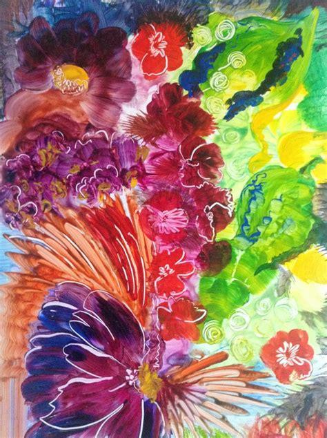 acrylic painting yupo acrylic on yupo paper painting
