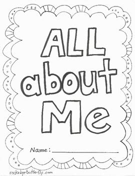 All About Me Book Free Printables Kindergartenklub Com Pinterest Free Printables Books All About Me Book Template