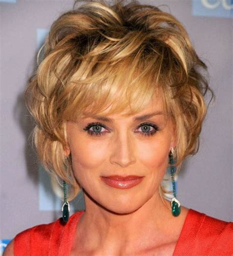 haircuts for wrinkled faces beauty granny with short hairstyles women over 40