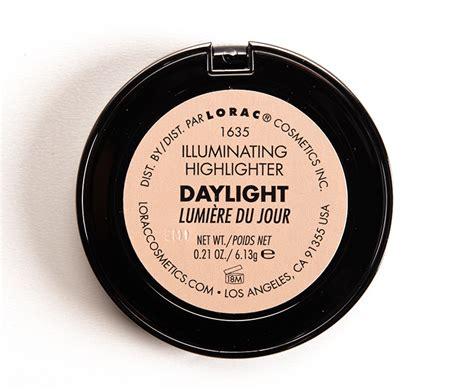 lorac light source illuminating highlighter lorac daylight illuminating highlighter review photos