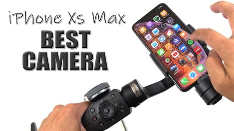 iphone xs max test with zhiyun smooth 4 4k 60fps