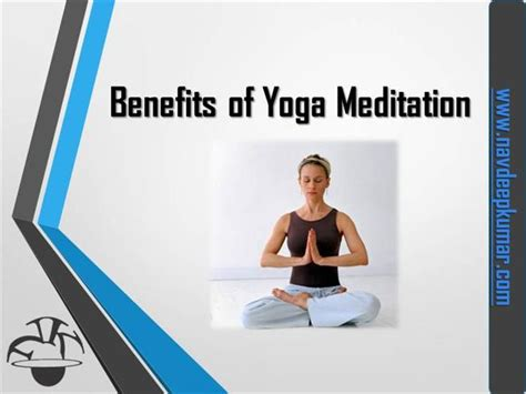 ppt templates for yoga benfits of yoga and meditation authorstream