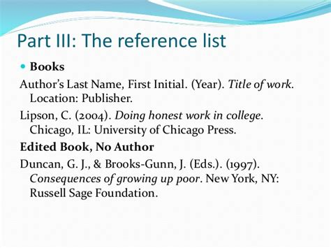 reference book apa no author apa style