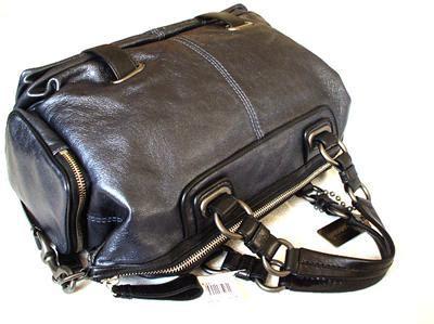 Tas Coach Tote Black Navy Tas nwt coach navy black cambridge leather tote bag purse satchel 14092 ebay