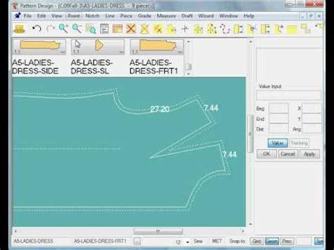 pattern design software gerber gerber technology accumark v8 3 1 live measurement demo