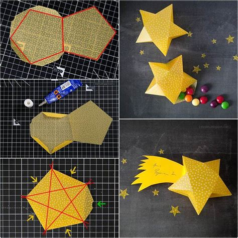 creative ideas diy easy paper star decor