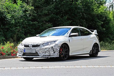 2019 honda civic 2019 honda civic type r spied for the time