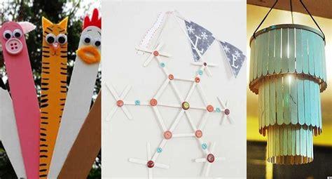 cosas que se pueden hacer con palitos de helado 10 entretenidas ideas que puedes realizar s 243 lo con palitos
