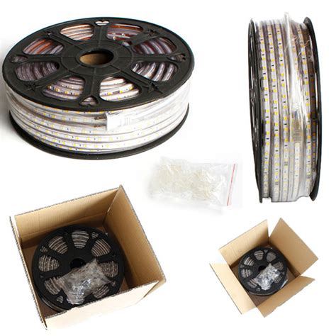 waterproof led strip lights 120v 110v 120v 220v 230v waterproof led strip light factory
