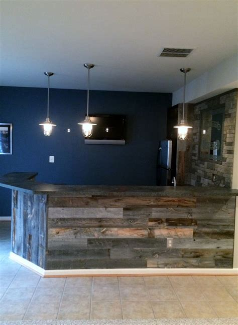 best 25 rustic basement bar ideas on