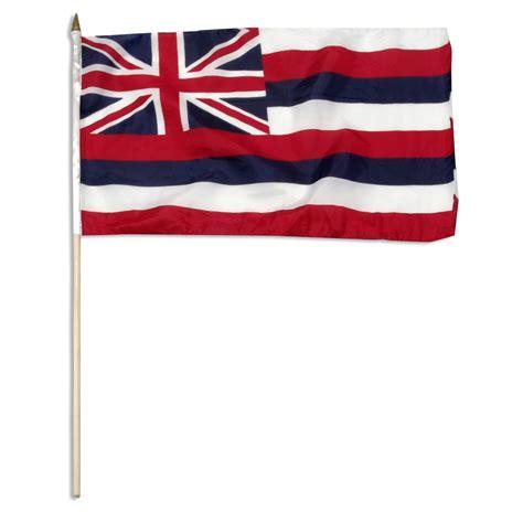 flags of the world hawaii hawaii state flag 12 quot x 18 quot hawaiian flags