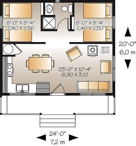 cabin layouts plans ideal fishing c cabin plan