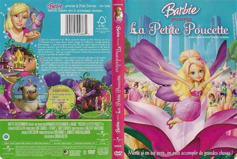 film barbie un merveilleux noel jaquette dvd de barbie la petite poucette canadienne