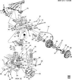 Cadillac Suspension Parts 1999 Cadillac Suspension Rear