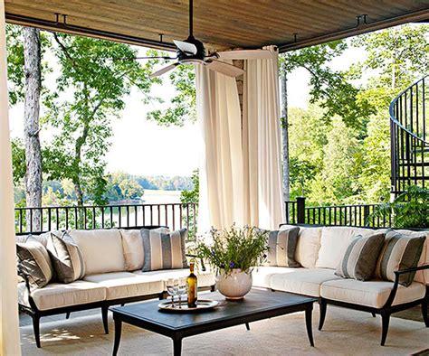 veranda vorhänge terrassengestaltung ideen 16 kreative gestaltungen f 252 r