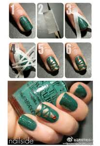 Holiday inspired nail design ideas salon marquee