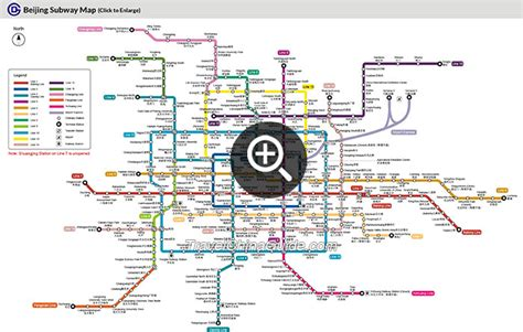 beijing subway map beijing subway maps metro planning map