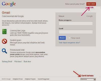 membuat gmail bar cara membuat blog terbaru dan terupdate 2014 catatanku