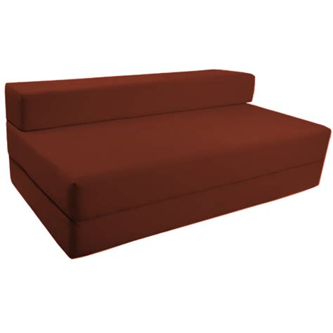 Sofa Bed With Foam Mattress Fold Out Foam Guest Z Bed Chair Folding Mattress Sofa Bed Futon Sofabed Ebay