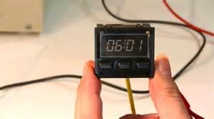 Porsche 944 Clock Porsche 944 Repairing The Digital Clock