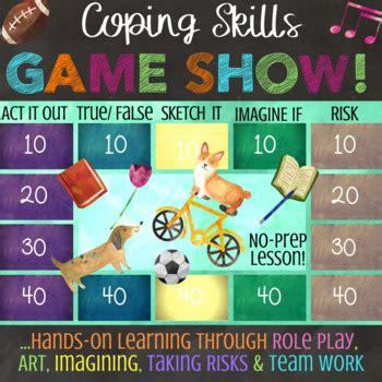 Coping Skills School Counseling Lesson On Stress Anxiety