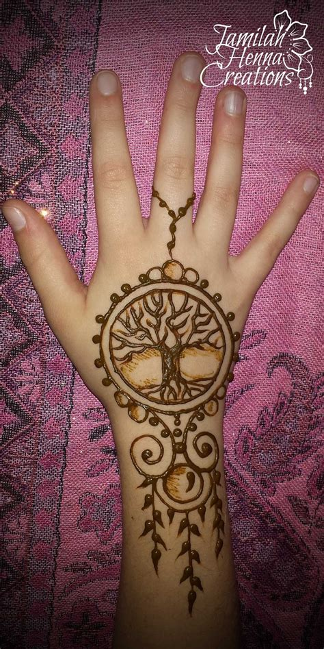 henna tattoo designs tree tree of henna jewelry www jamilahhennacreations