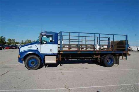 kenworth 18 wheeler for sale kenworth t300 flatbed 1999 heavy duty trucks