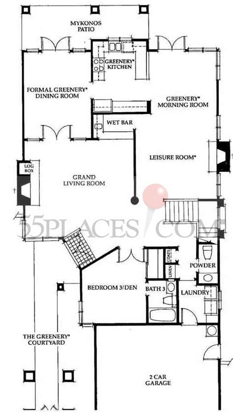 san remo floor plans san remo floorplan 2808 sq ft ocean hills country