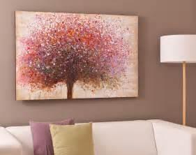 tableau arbre multicolore becquet