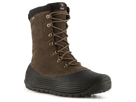 dsw mens winter boots teva bormio winter boot dsw