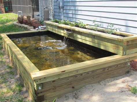 Raised Garden Pond Ideas Best 20 Raised Pond Ideas On Pinterest Pond Design Above Ground Pond And Garden Ponds