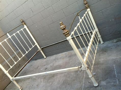 Antique Metal Bed Frame Vintage Metal Bed Frame Gold Design
