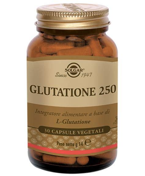 glutatione alimenti glutatione 250 integratore alimentare 30 capsule vegetali