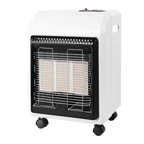 blue small room gas heater mini perfection infrared