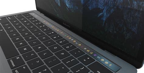 Macbook Pro Space Grey element 3d 2016 macbook pro 13 quot with touchbar by mr matt 3docean