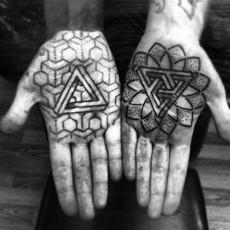 mandala tattoo after years penrose triangle tats and more scene360