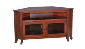Sauder Cabinets White Young Mission 40 Corner Tv Stand Ohio Hardwood Furniture